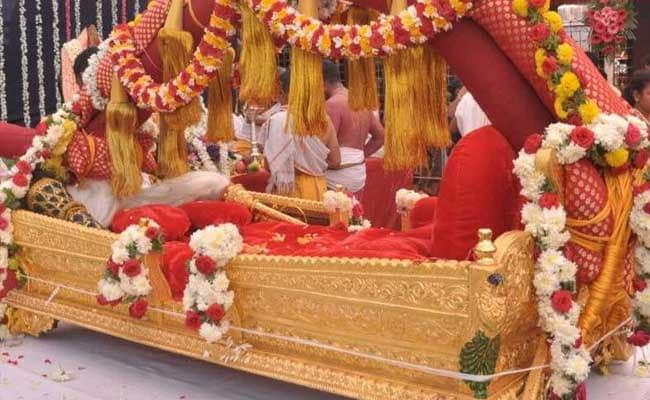 7 करोड़ की पालकी पर बैठेंगी कोल्हापुर की अंबाबाई