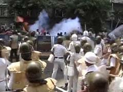 Water Cannons, Smoke Shells: Protest In Kolkata Turns Violent Again