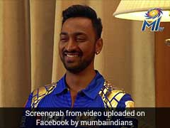IPL 2017: Mumbai Indians' Krunal Pandya Reveals The Naughty Side Of Brother Hardik Pandya
