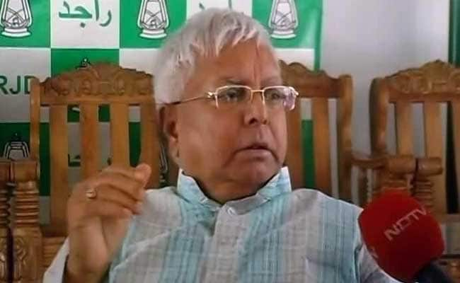 'They Call Me the Biggest 'Zamindar': Lalu Yadav Attacks BJP