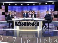 France's Emmanuel Macron Files Complaint After Marine Le Pen's 'Offshore Account' Claim: Aide
