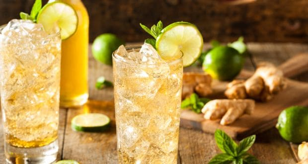 lemon ginger ice