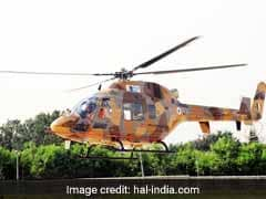 HAL Test Flies Second Prototype Of Light Utility Helicopters