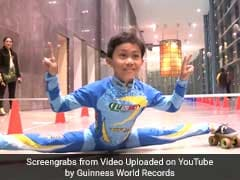 Delhi Boy, 8, Creates New Record In Limbo Skating. Video Will Amaze You