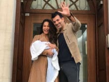 Lisa Haydon Welcomes Baby Boy, Zack Lalvani. Pic Here