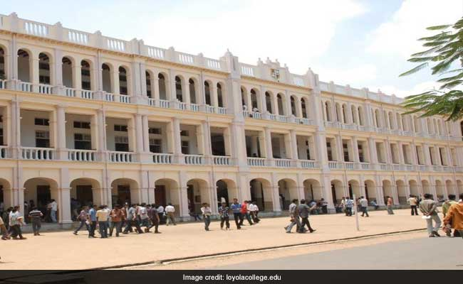 Tamil Nadu UG Admission 2017: Apply Online At Loyola College Chennai Till May 23