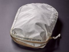 Collection Bag From Apollo 11 Moon Mission To Be Sold At Auction