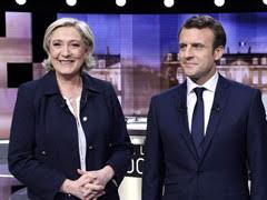 Emmanuel Macron, Marine Le Pen Face Off As France Elects New President Today