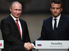 The Putin-Macron Handshake The World Was Waiting For