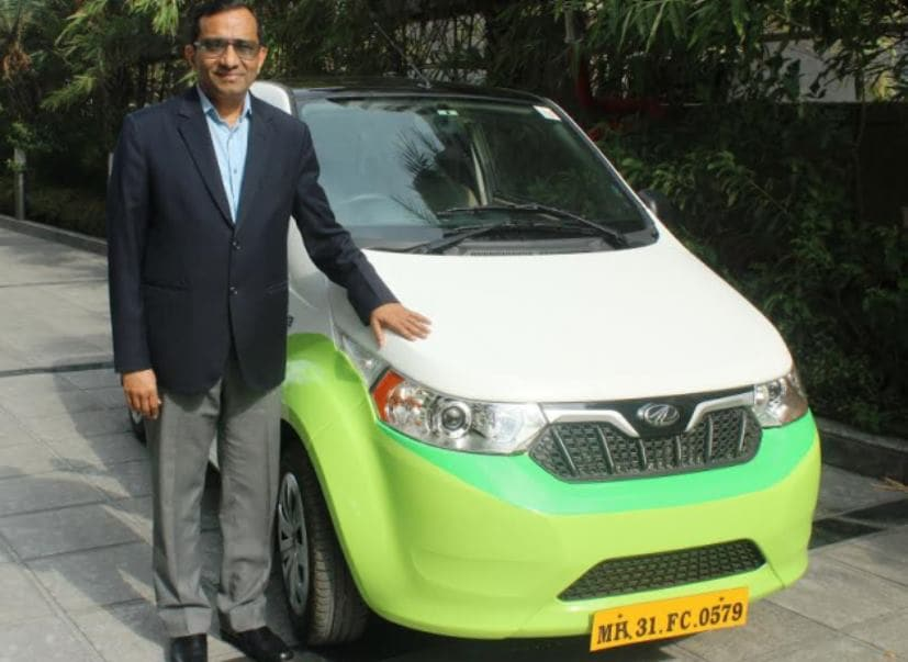 mahindra has given 100 e2o plus cars