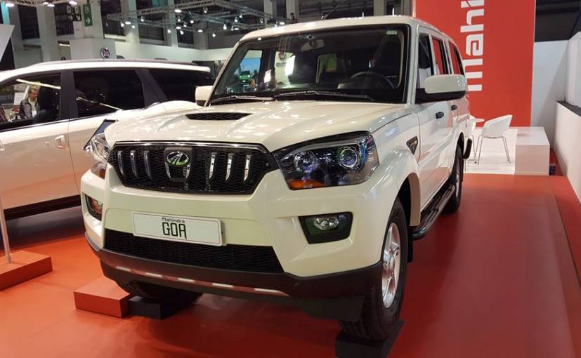 new car launches planned in indiaNew Mahindra Scorpio Pickup Showcased In Spain No Plans To Launch