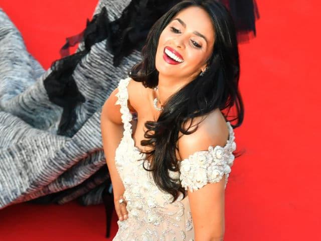 Cannes Film Festival: Mallika Sherawat Turned Heads In Dress By Her Favourite Designer