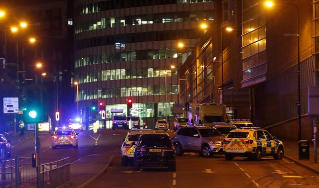 Image result for Pictures explosion in Manchester may.2017