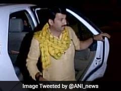 Delhi BJP Chief Manoj Tiwari's House Ransacked, Intruders Caught On CCTV