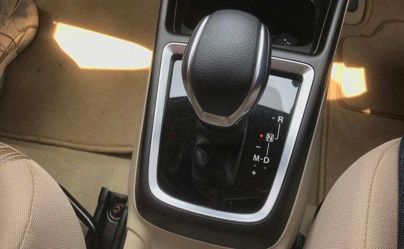 maruti suzuki dzire automatic gear lever