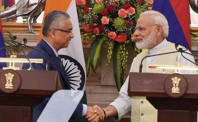 भारत ने मॉरीशस को 50 करोड़ डॉलर की ऋण सहायता देने की घोषणा की
