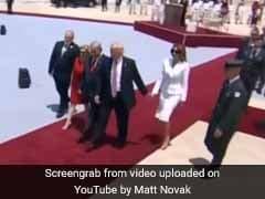 ऐसा क्या हुआ, जो पत्नी मेलानिया ने सबके सामने झटक दिया अमेरिकी राष्ट्रपति डोनाल्ड ट्रंप का हाथ