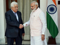 India Committed to Independent Palestine, PM Modi Tells President Abbas