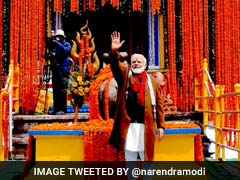 PM Narendra Modi Prays At Kedarnath Temple In Uttarakhand As Pilgrimage Opens After 6 Months