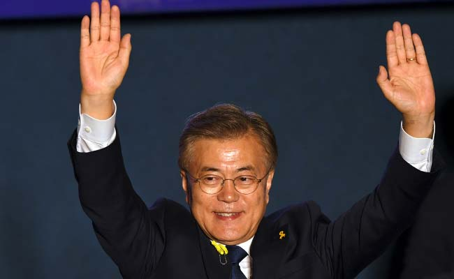 'I Will Be President For All South Koreans': Moon Jae-In