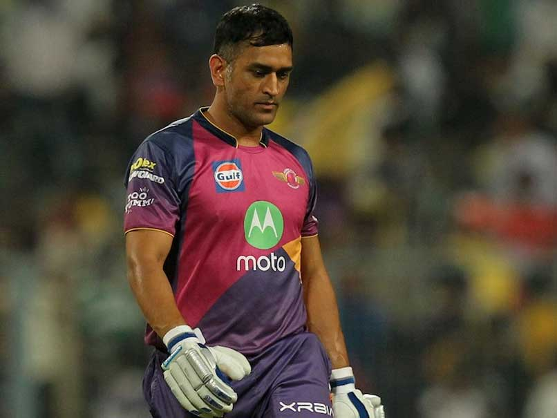 IPL 2017: MS Dhoni Edges Ball to Keeper, Walks Off Without Waiting For Umpire's Decision