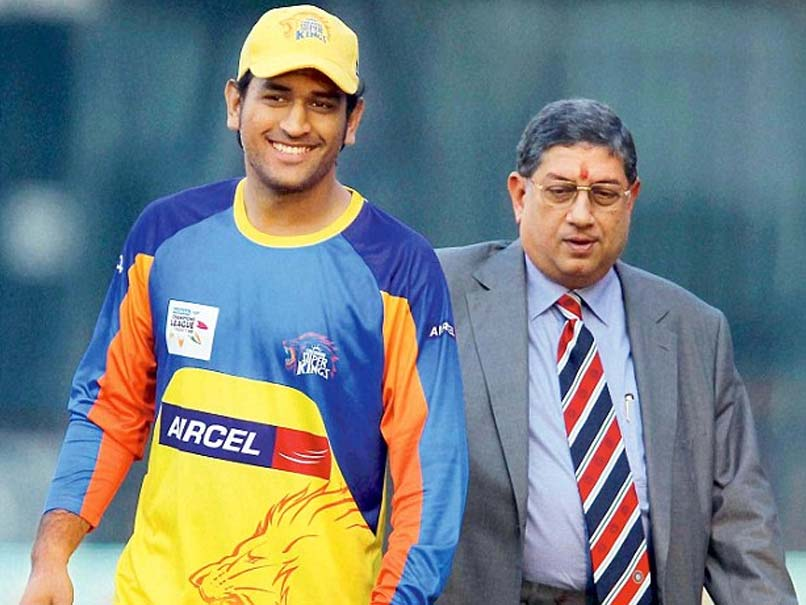 In A First, MS Dhoni Opens Up About His Ties With N Srinivasan