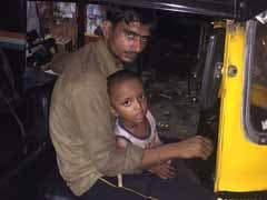 Wife Paralysed, Mumbai Auto Driver Takes 2-Year-Old Son Along To Work