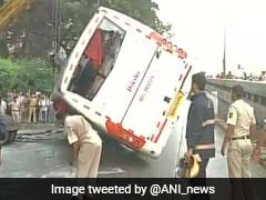 1 Killed, 34 Injured As Tourist Bus Overturns In Mumbai's Dadar