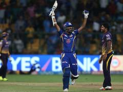 IPL 2017: Mumbai Indians Beat Kolkata Knight Riders By 6 Wickets, To Meet Rising Pune Supergiant In Final