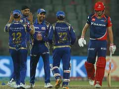IPL 2017: Delhi Out For 66, Mumbai Make Play-Offs After Thumping Win