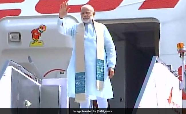 PM Narendra Modi Leaves For Two-Day Visit To Sri Lanka