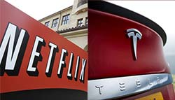 Citi Lists Netflix, Tesla As Potential Takeover Targets For Apple