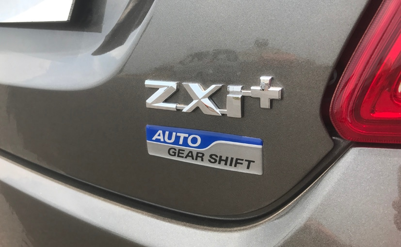new maruti suzuki dzire badges