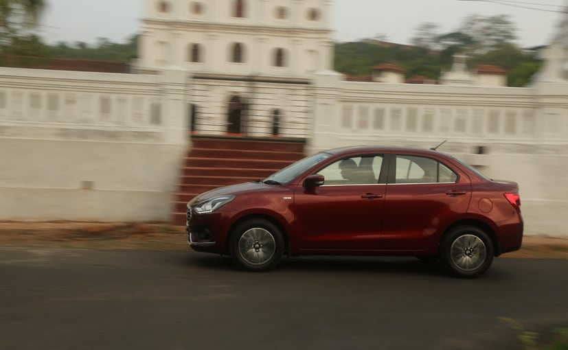new maruti suzuki dzire side view