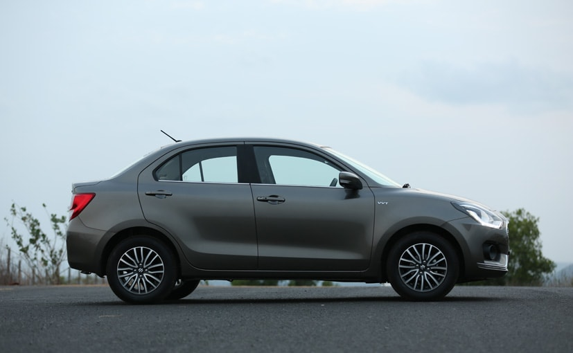 new maruti suzuki dzire side