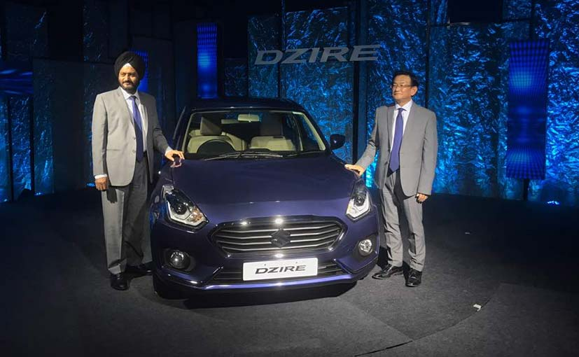 2017 Maruti Suzuki Dzire Launched; Prices Start At ₹ 5.45 Lakh