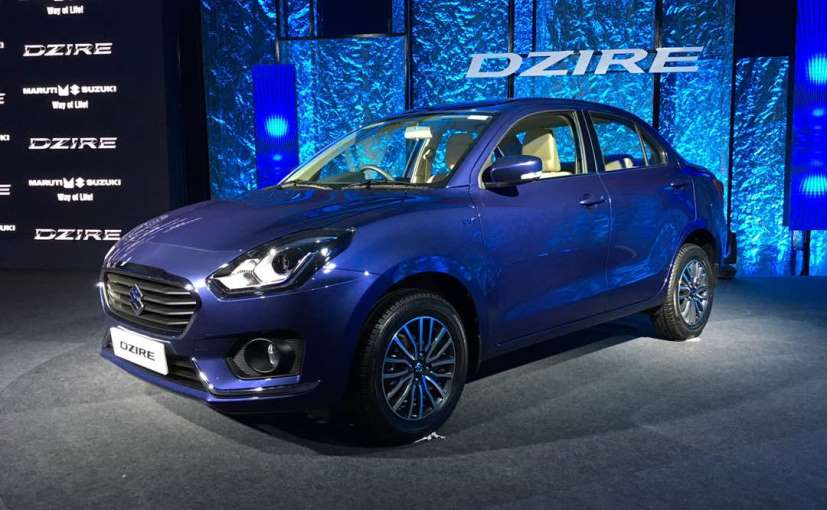 2017 Maruti Suzuki Dzire: Variants Explained