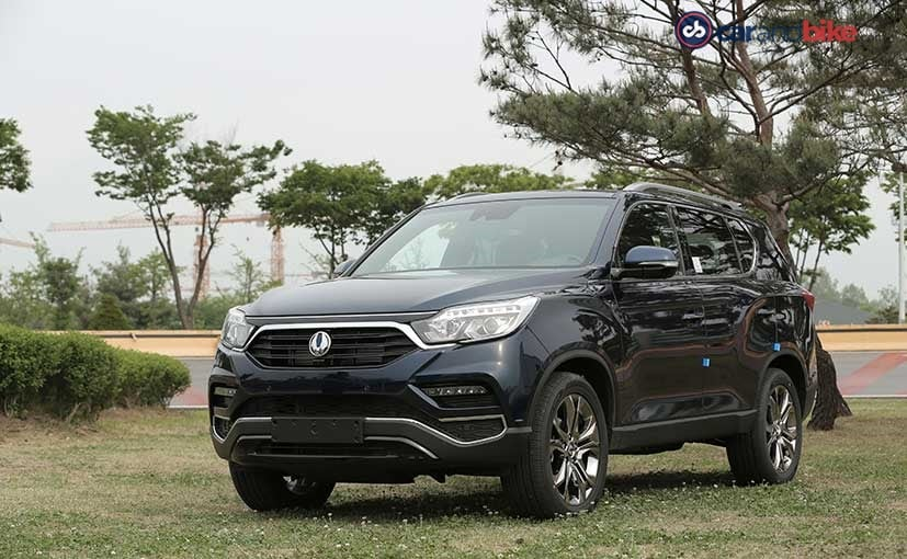 The soon-to-be-launched Mahindra Y400 SUV is based on the 2nd gen SsangYong Rexton