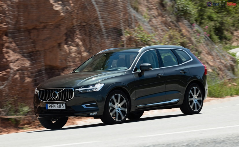 new volvo xc60 cornering
