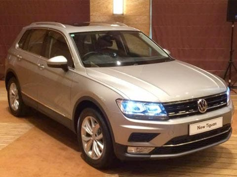 VW Tiguan SUV launched in India. Tap for details on prices, specs