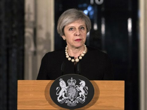 PM Theresa May raises Britain\'s threat level, says another attack \'may be imminent\' after concert bombing