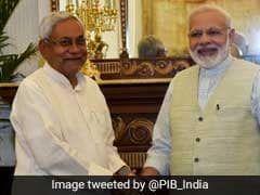 Nitish Kumar Meets PM Modi, Day After Skipping Sonia Gandhi's Invite
