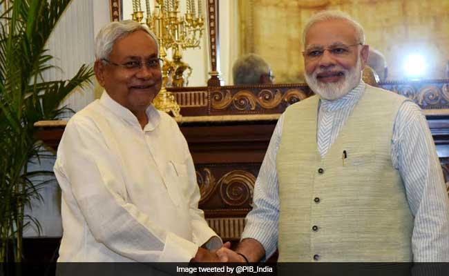 Congress Terms Nitish Kumar Joining PM Narendra Modi As 'Dream'