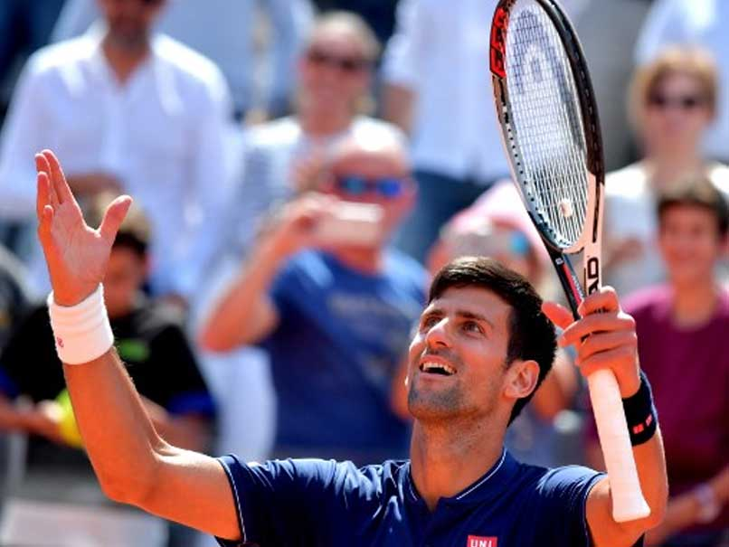 Novak Djokovic Ousts Juan Martin Del Potro To Seal Rome Masters Semi-Final Berth
