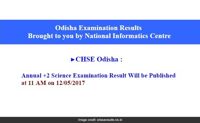 Know how to check Odisha +2 Science exam-2017 results