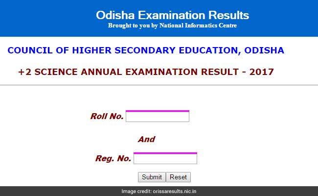 odisha hsc result 2017