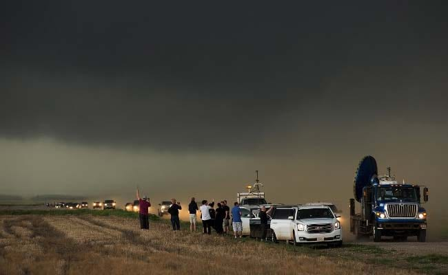 One Killed As Tornado Tears Through Dozens Of Homes In Oklahoma