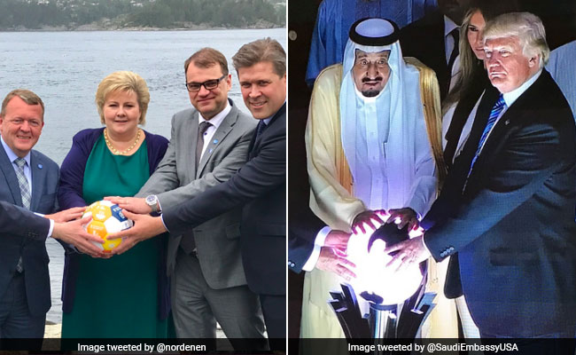 Image result for nordic leaders holding illuminated orb