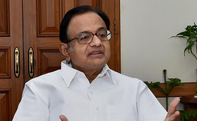 Election Body Authorised PM To Announce Gujarat Poll Dates: P Chidambaram