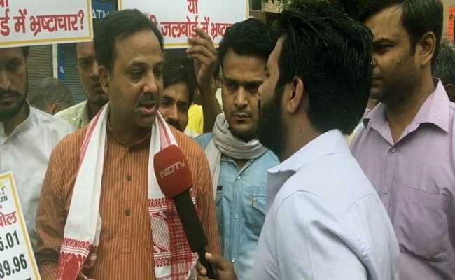 पानी की समस्या के लिए जल बोर्ड दोषी, न कि हरियाणा... MLA पंकज पुष्कर का AAP सरकार पर आरोप